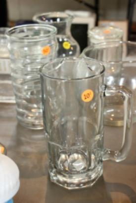 Yard sale glasses