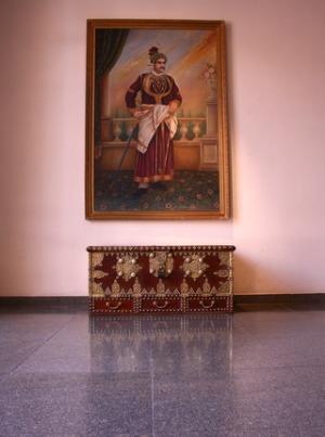 Ornate Oil Painting