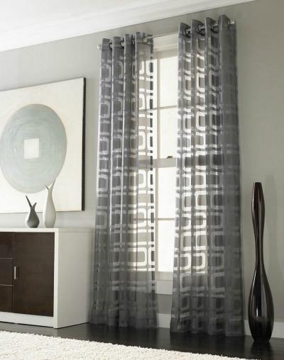 Neutral window curtains