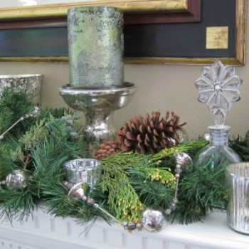 Holiday decorations from nature
