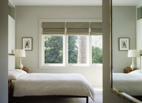 Bedroom With Mirror