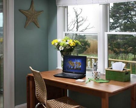 Home office desk design interior pictures