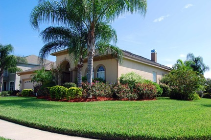 An immaculate yard will entice buyers to venture inside the house.
