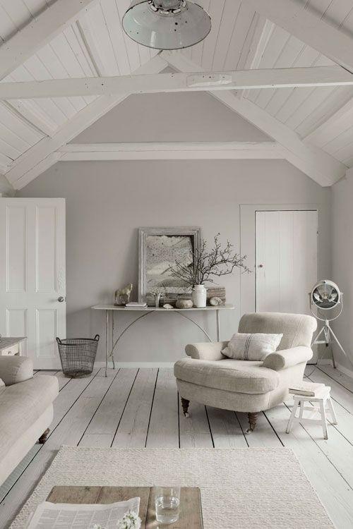Monotone living room