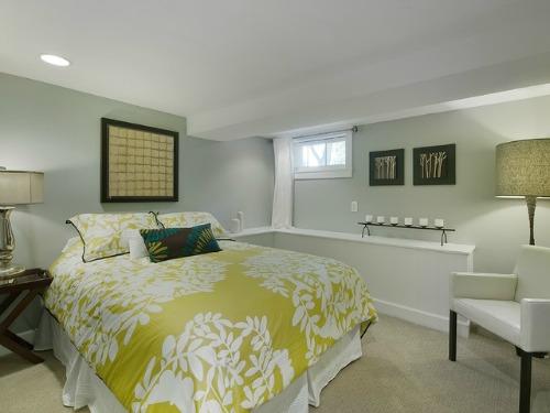 Basement home interior design