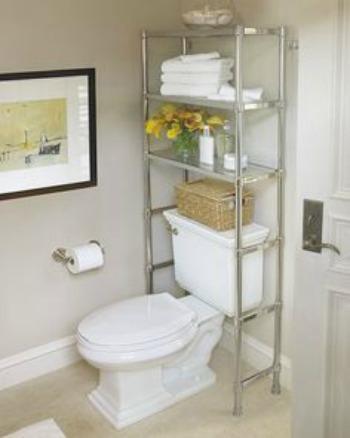 Over-the-toilet storage unit