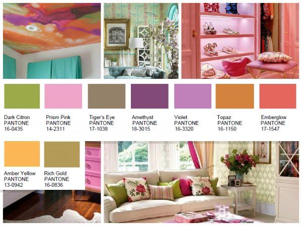 Bijoux Pantone color palette 2016