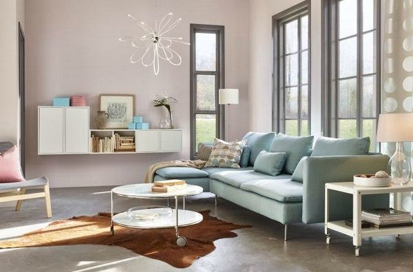 Living Room Interior Design Pictures The Home Color Trends For 2016 Have Something