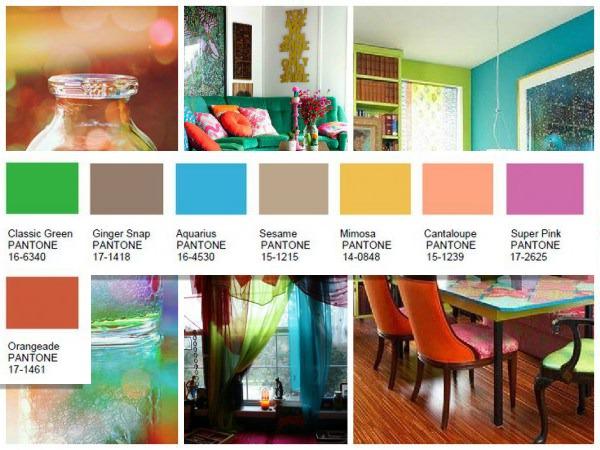 Merriment Pantone color palette 2016