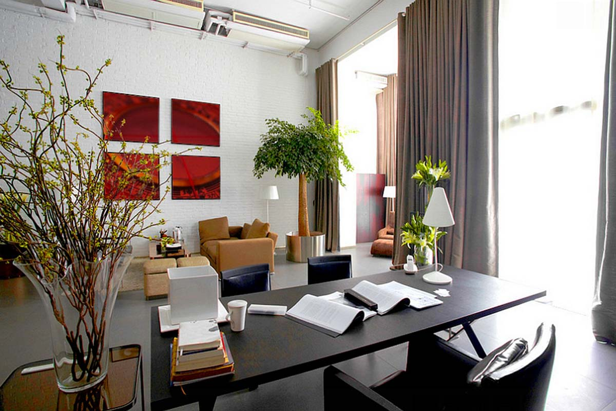 Feng shui office. Feng shui home staging.