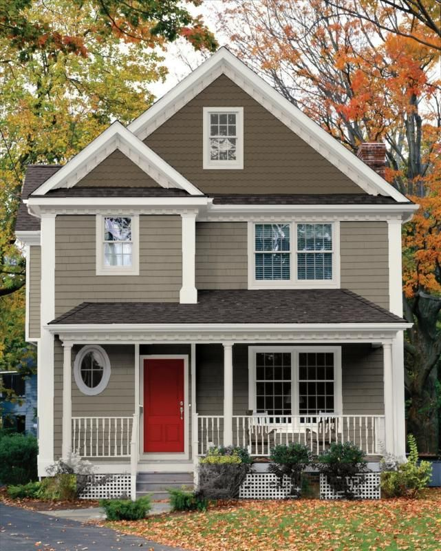 A beautifully painted home exterior will make buyers want to go inside!