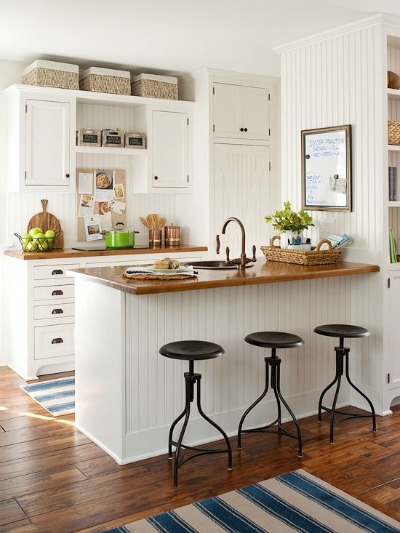 Small kitchen decorating ideas for home staging - Home decor ideas for small homes ...