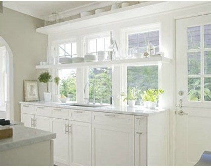 Small white kitchen interior design pictures