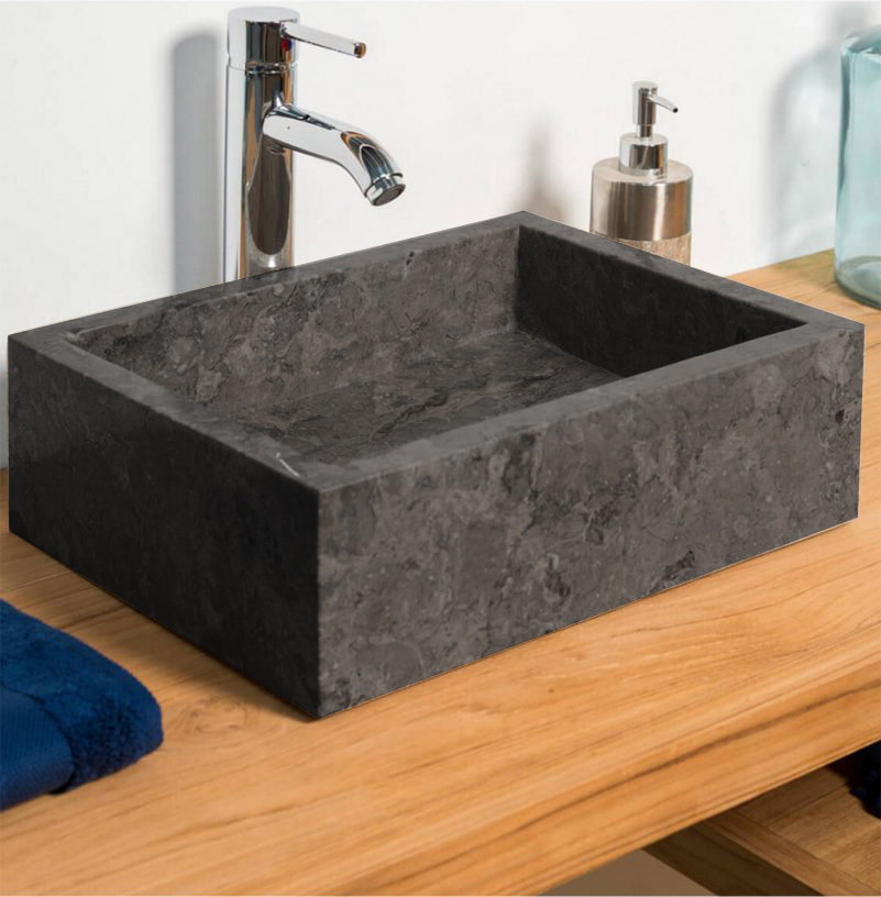 How to clean a stone sink.