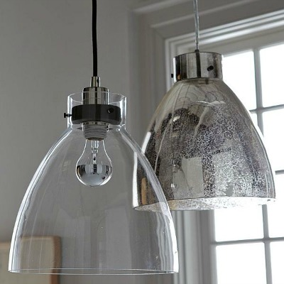 Clear pendant lights