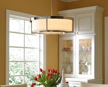Drum light fixture