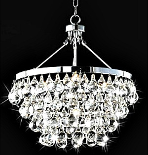 Crystal chandelier design interior pictures