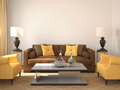 Staging The Living Room Furniture
