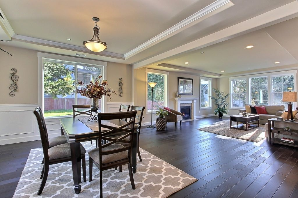 Open concept living room. How to sell your home.