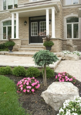 Home with great curb appeal