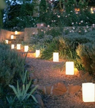 Luminarias for outdoor lighting