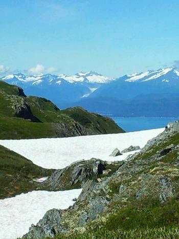 Mountain view in Southeast Alaska