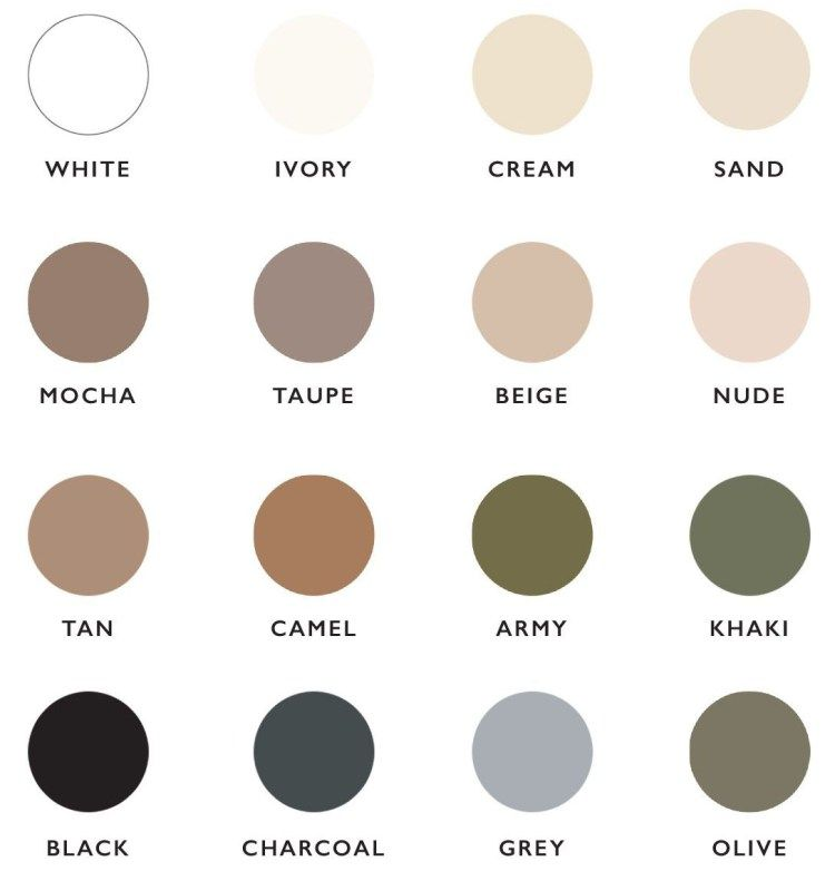 Neutrals Colors interior colors for home staging