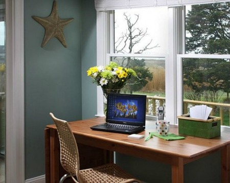 Home office desk design interior pictures
