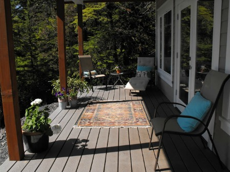 Home staged deck