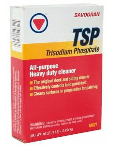 TSP is a great product that removes cigarette stains from walls.