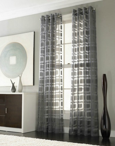 Neutral window curtains
