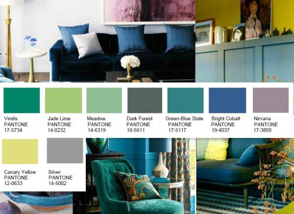 Dichotomy color palette by Pantone 2016