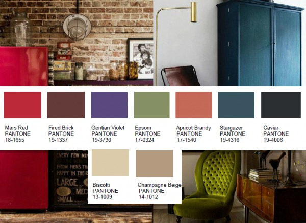 Home interior color trends for 2016 for Interior home color combinations and contrast
