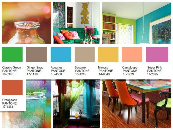 Home interior color trends for 2016 - 2017 pantone view home interiors palettes ...