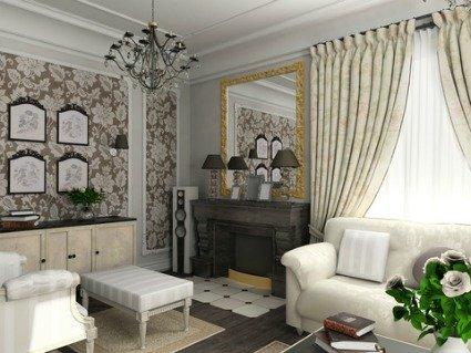 Formal Living Room design interior pictures