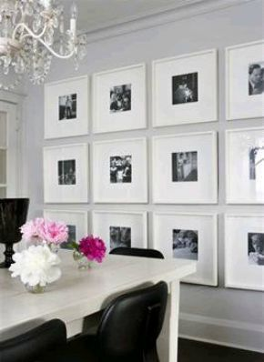 Symmetrical wall grouping