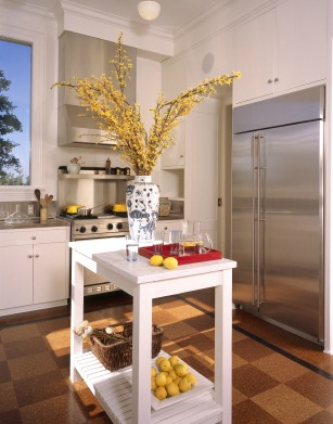 Buyers love kitchen islands. Stage my own home.