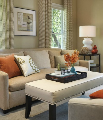 Distribute color evenly throughout a room.
