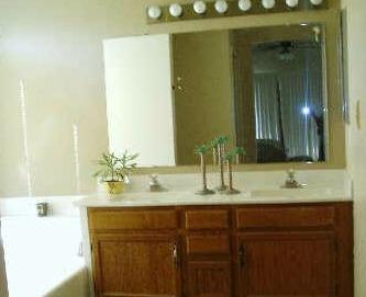 Ugly builder-grade mirror!