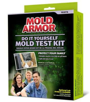 Mold test kit. Getting rid of mold.