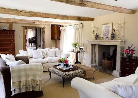 Country design living room